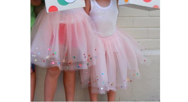 Tutorial: Sparkle confetti tutu