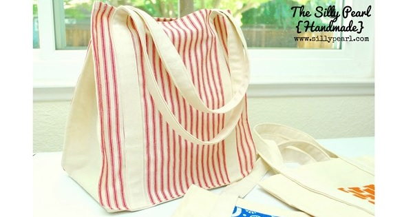 Tutorial: Reusable grocery tote