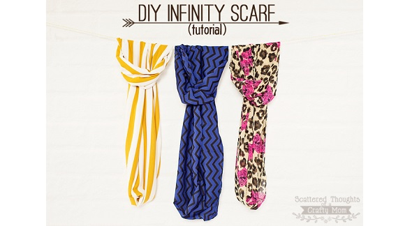 Tutorial: Easy infinity scarf