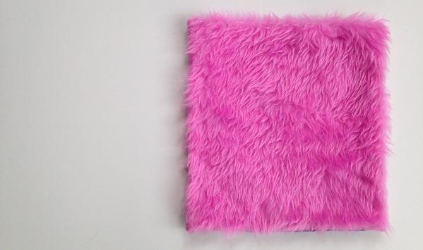 Locker rug, the faux fur top