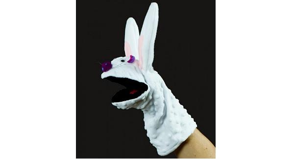 Free pattern: Rabbit hand puppet