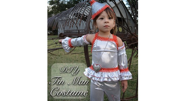 Inspiration: $20 DIY Tin Man Halloween Costume
