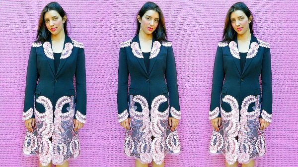 Tutorial: Blazer to coat dress refashion