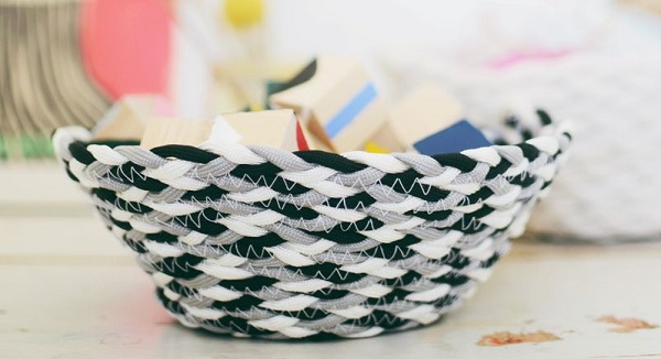 Tutorial: Braided cord basket