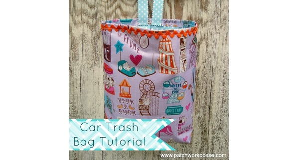 Tutorial: Hanging trash bag for your car