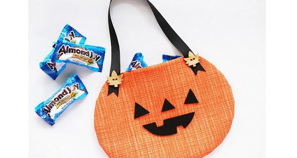 Tutorial: Pumpkin treat bag