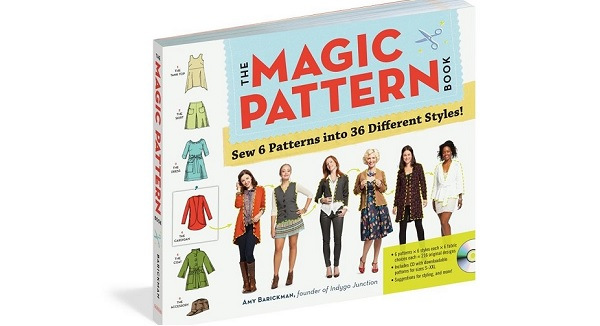 Winner of the Magic Pattern Book giveaway