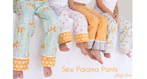 Tutorial: Cuff hem pajama pants