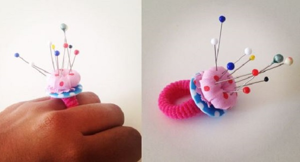 Tutorial: Pincushion ring