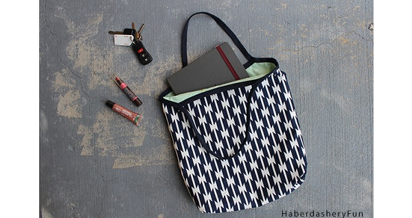 Tutorial: Reversible 1-Hour Tote