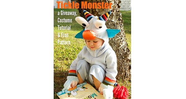 Tutorial: Tickle Monster Halloween costume