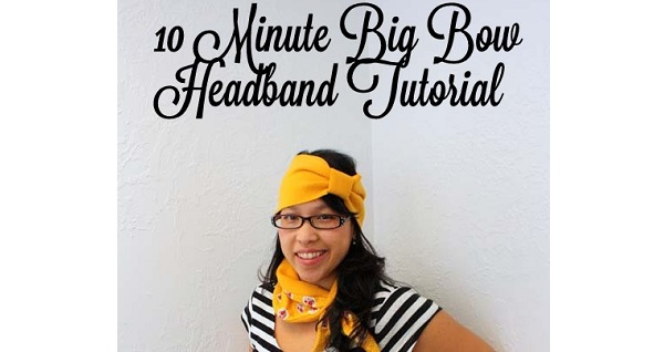 Tutorial: Big Bow Ear Warmer and Collar Cozy