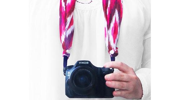 Tutorial: Scarf camera strap cover