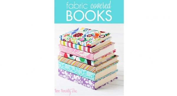 Tutorial: Fabric covered books