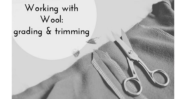 Tutorial: Grade and trim seam allowances on bulky fabrics