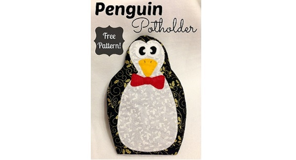 Free pattern: Penguin Pot Holder
