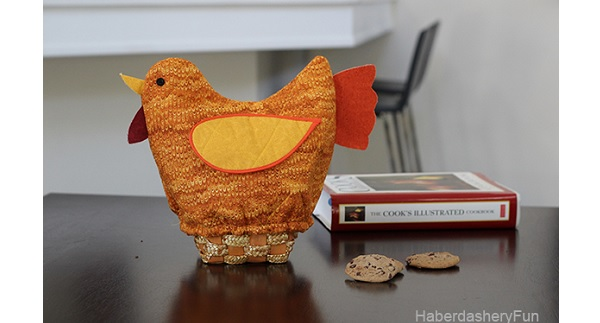 Tutorial: Quilted Turkey Bread Basket