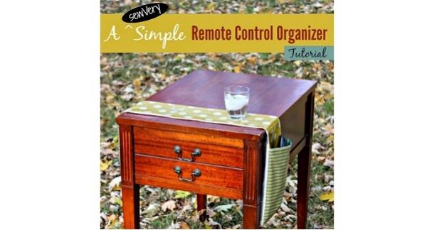 Tutorial: Remote control organizer