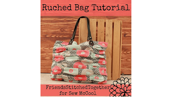 Tutorial: Ruched hand bag