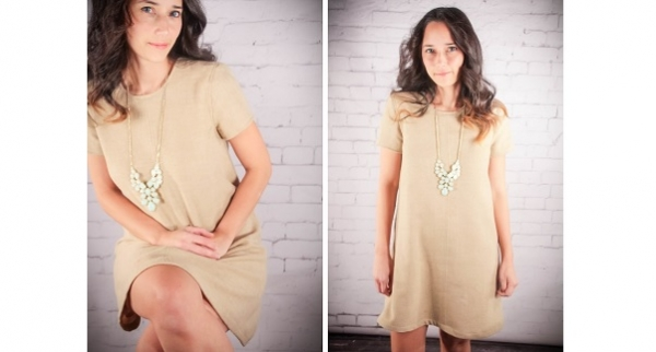 Free pattern: Simply Shift Dress