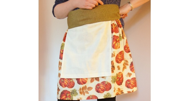 Tutorial: Thanksgiving Apron