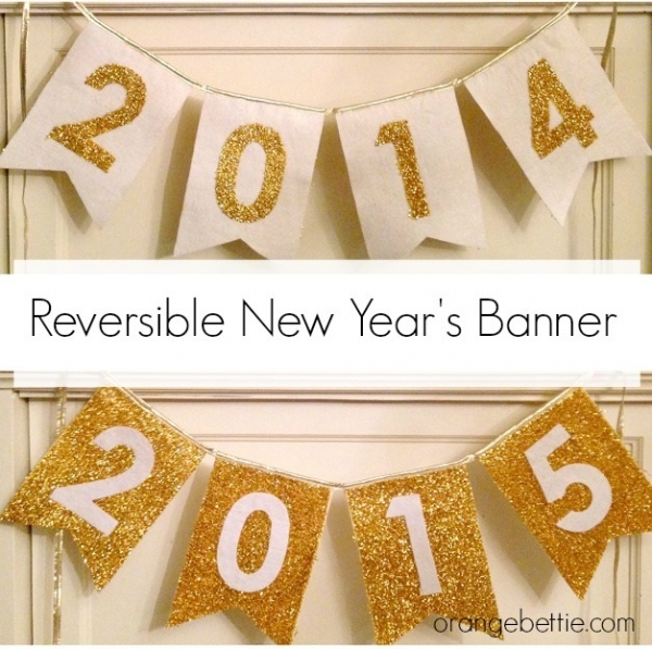 Tutorial: Reversible New Year's banner