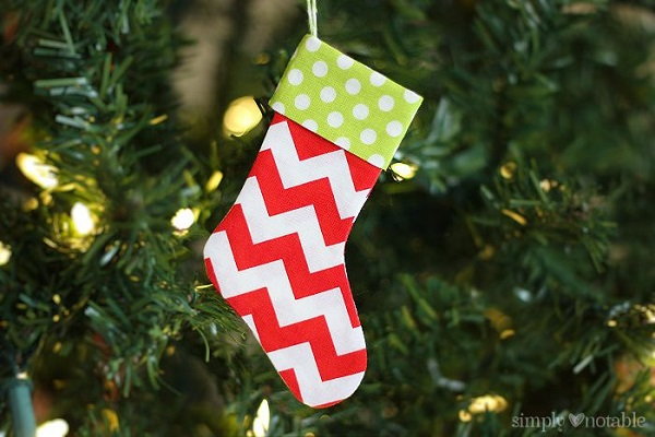 Tutorial: Mini Christmas Stockings