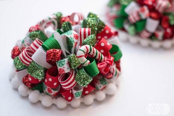 Tutorial: Loopy ribbon puff bow