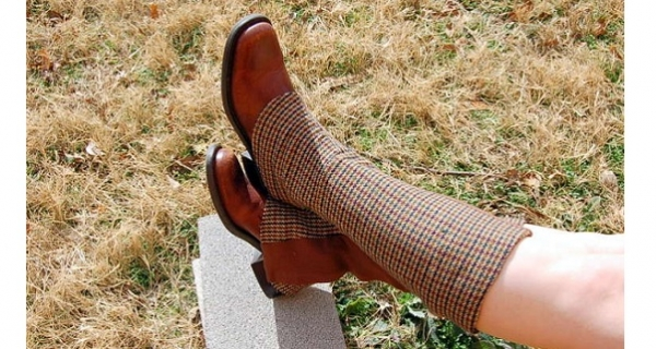 Tutorial: Sew a pair of boot spats