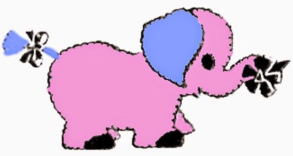 Free pattern: Vintage elephant softie