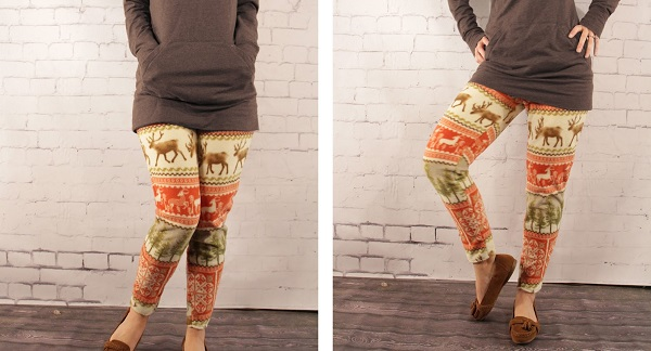 Free pattern: Fleece leggings