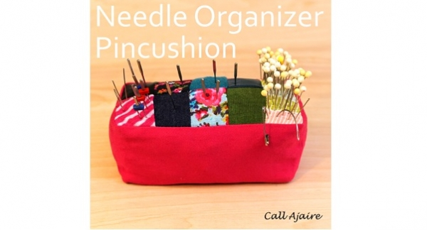 Tutorial: Pincushion that organizes your sewing machine needle – Sewing