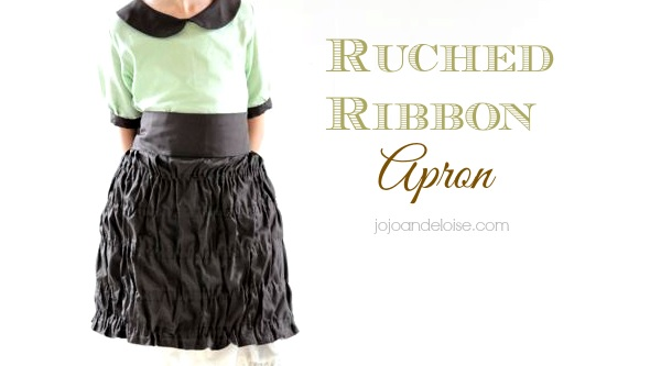 Tutorial: Ruched apron