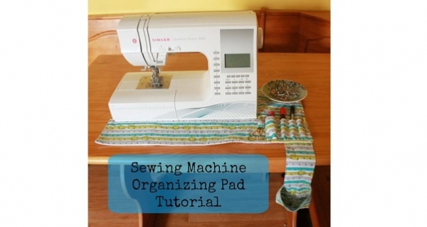 Tutorial Non Slip Sewing Machine Mat Organizer And Thread