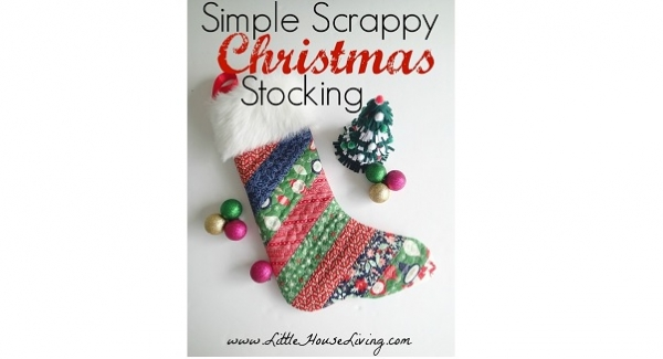 Tutorial: Simple Scrappy Christmas Stocking
