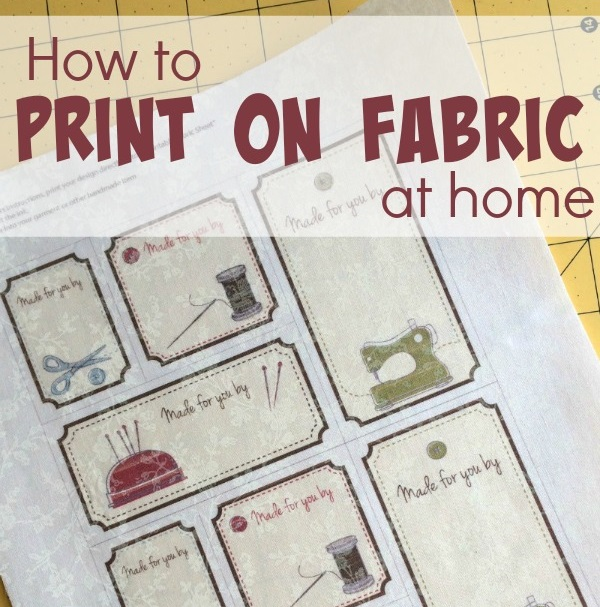 Tutorial: 4 ways to print fabric on your home printer