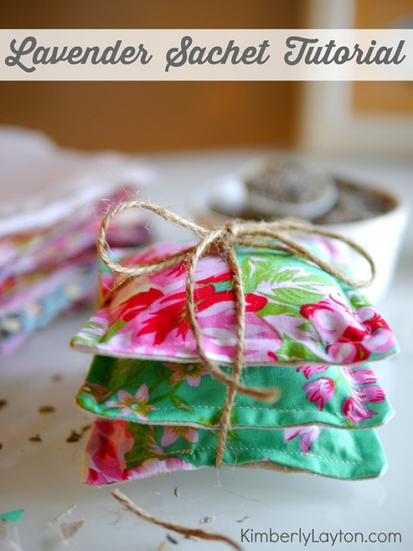 Tutorial: Simple lavender sachet