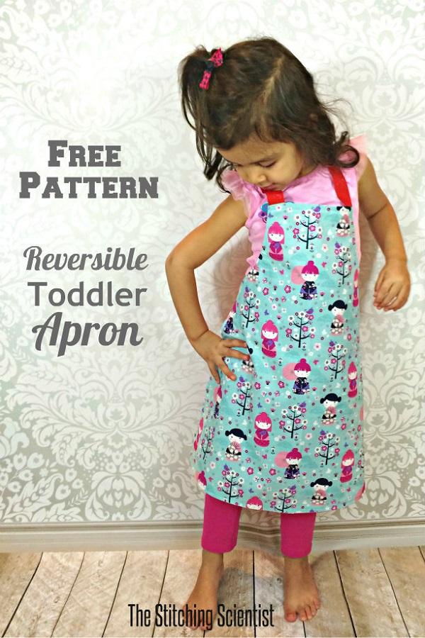 Tutorial: Toddler's reversible apron