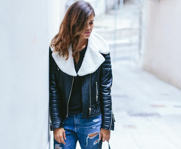 Tutorial: Detachable faux shearling coat collar