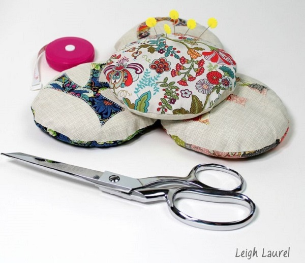 Tutorial: Pattern weight pincushions