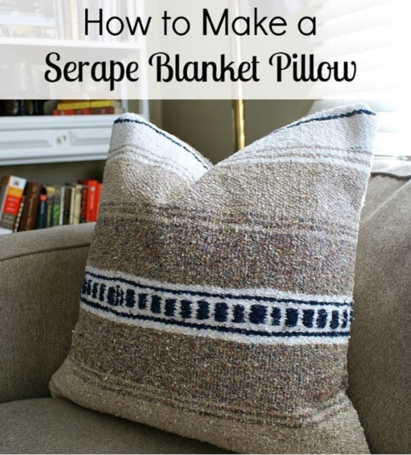 Tutorial: Serape blanket pillow