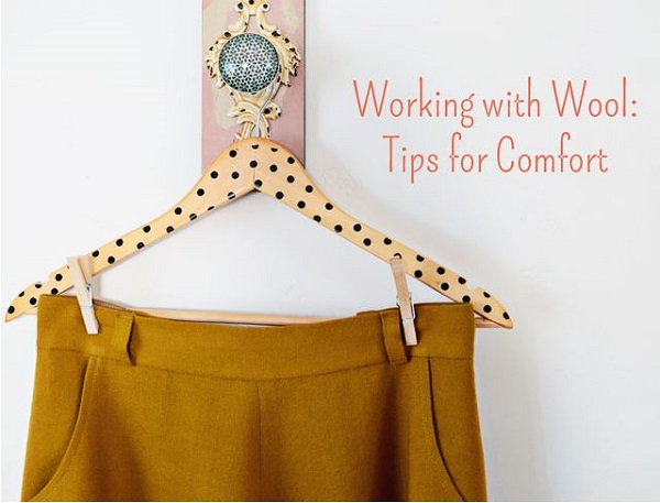 Tips for sewing wool garments that aren't itchy