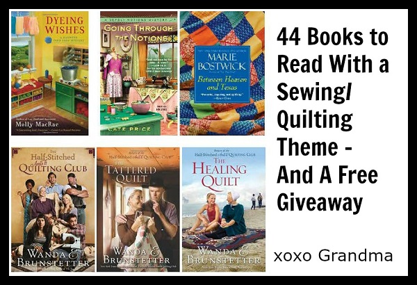 Sewing or quilting themed books reading list