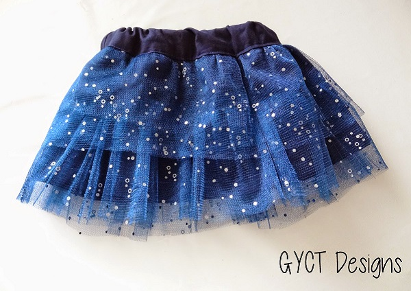 Tutorial: Fancy tiered skirt for a little girl