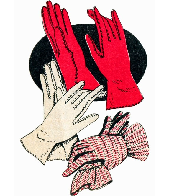 Free pattern: Vintage day gloves – Sewing