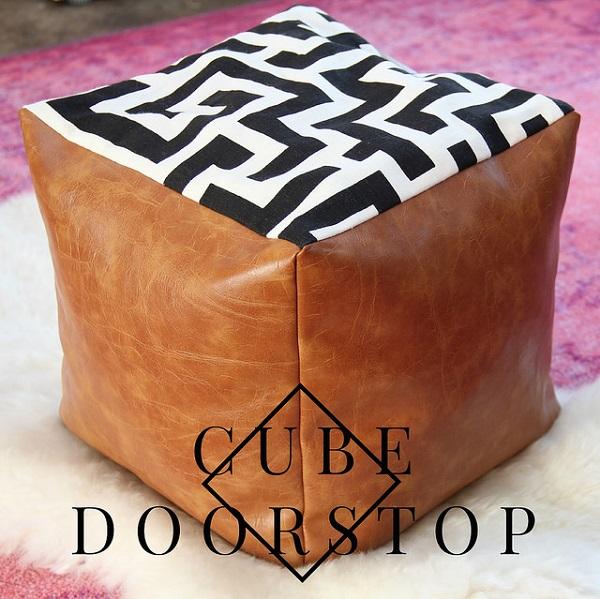 Tutorial: Cube doorstop pouf