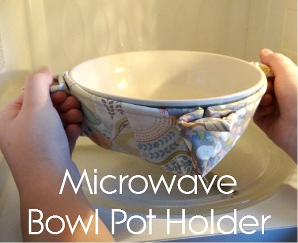 Tutorial: Bowl potholder for your microwave