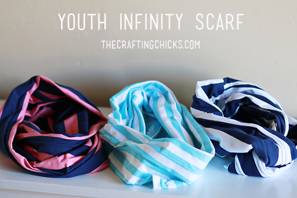 Tutorial: Youth infinity scarf