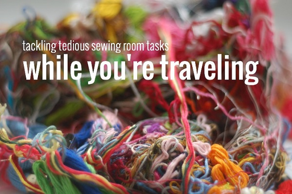 Sewing tasks you can do while traveling
