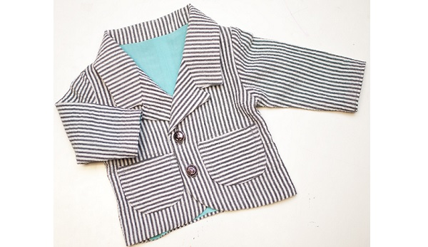 Free pattern: Blazer for baby